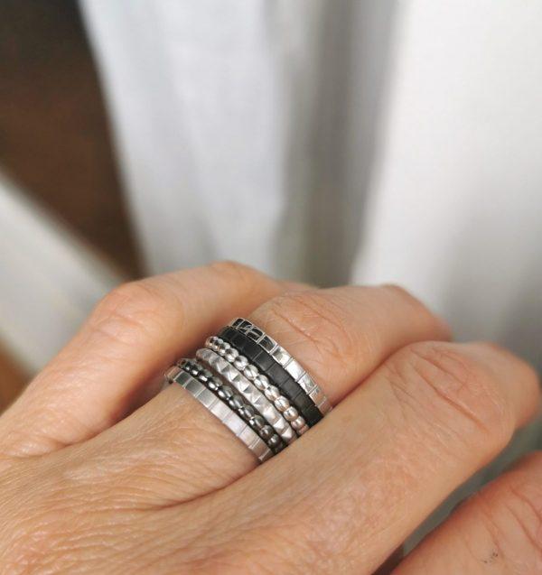 bagues anneaux portées